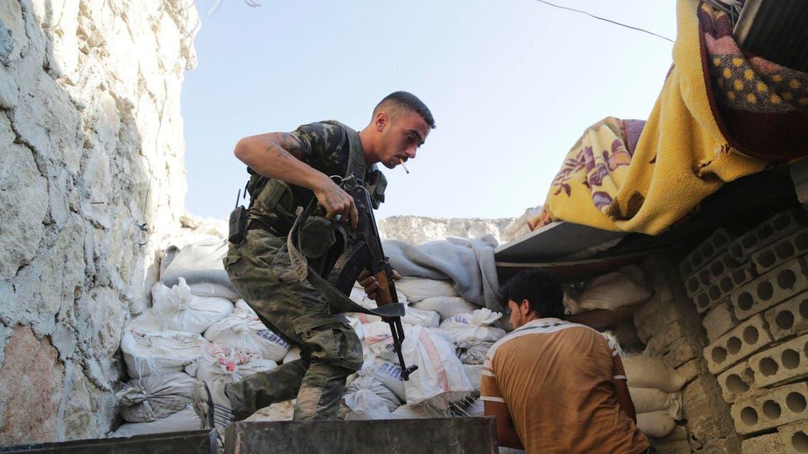 Reuters Syrian rebels