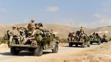 Lebanese army kills 11 militants near Syria border