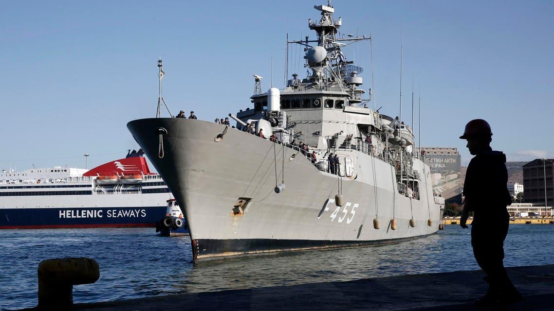 greek navy reuters