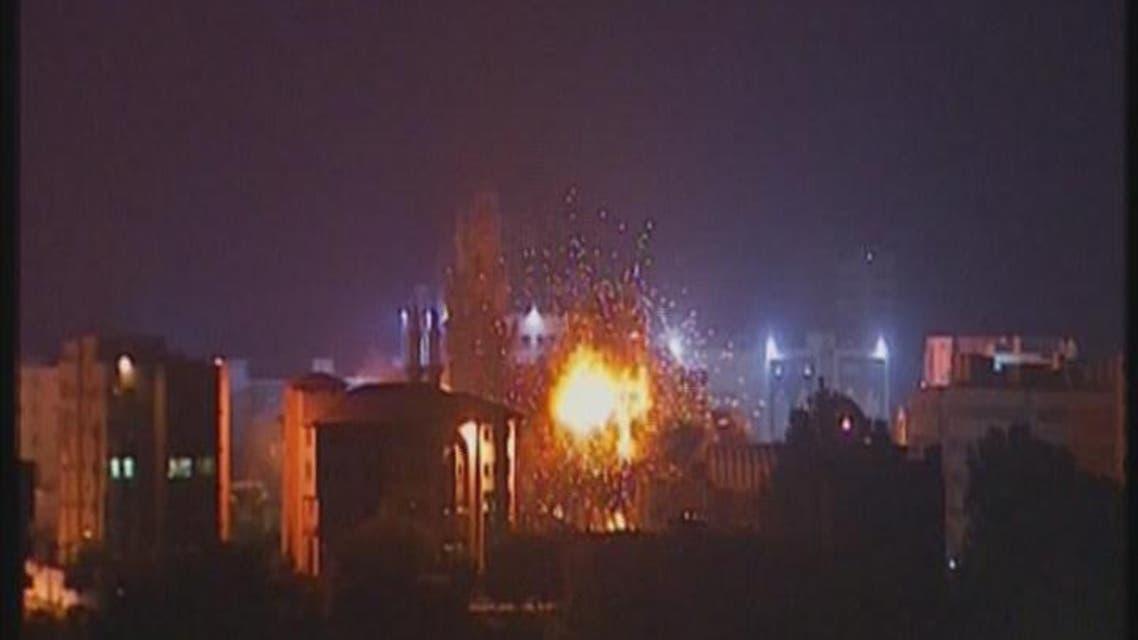 THUMBNAIL_ قصف على الجامعة الإسلامية في غزة