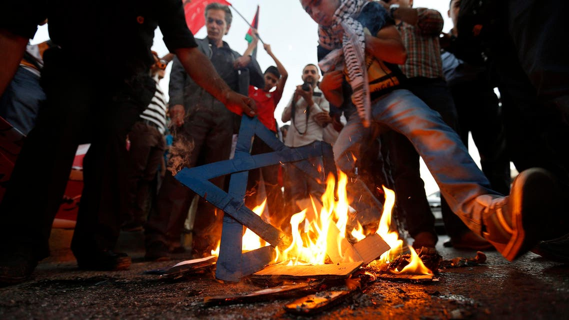 Jordanians protest Israel's offensive on Gaza