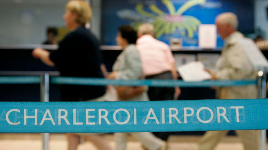 The man was arrested in Brussels's Charleroi Airport on Saturday. (Reuters)