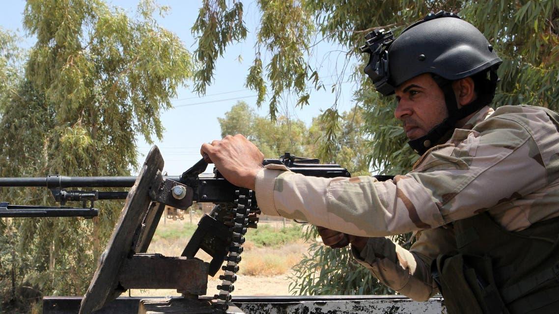 Iraq volunteer AFP