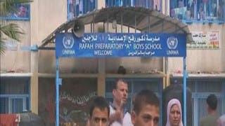 إسرائيل تستهدف مدرسة للأونروا بغزة للمرة الثالثة