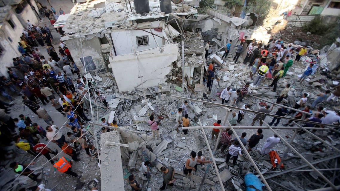 اسلحة اسرائيل غزة