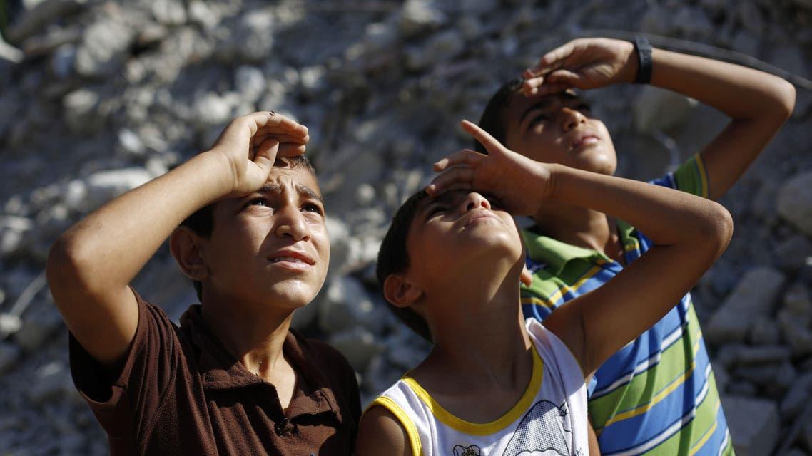 Gaza children AFP