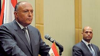 سامح شكري: مهمة الجيش حماية الحدود المصرية