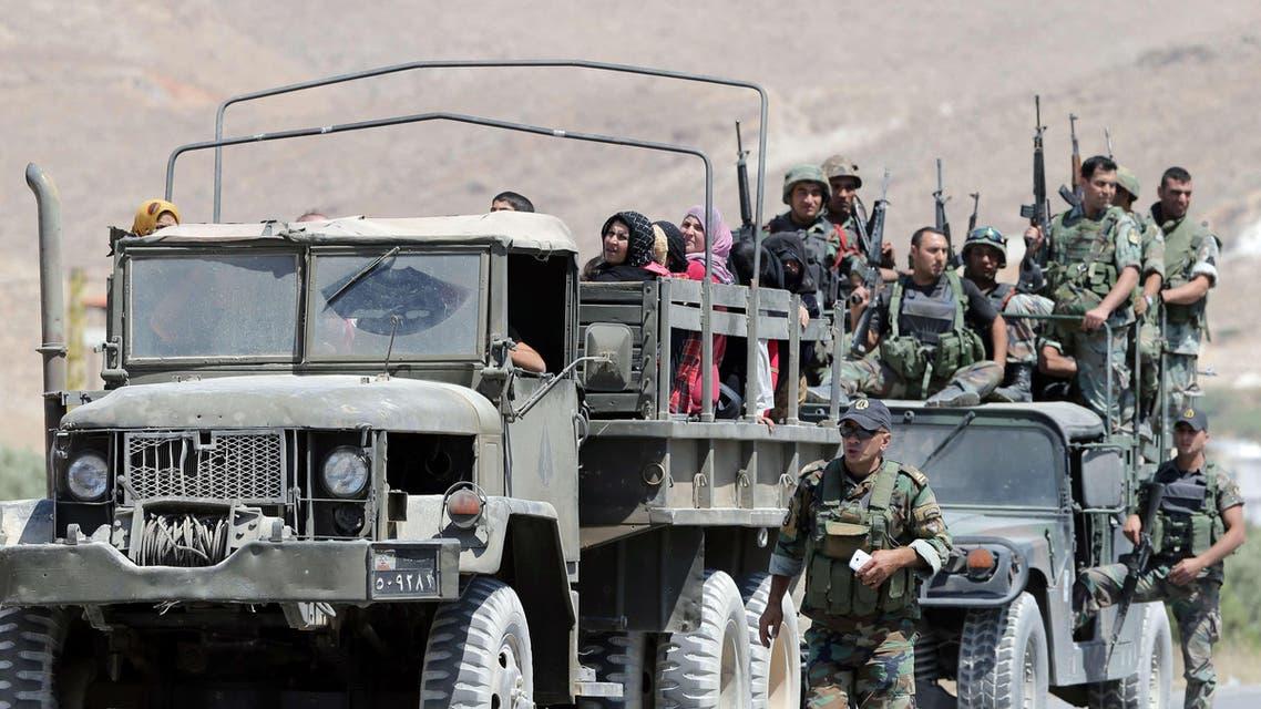 Lebanese Army Arsal AFP