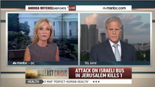 Ex-Israeli ambassador: could not hear MSNBC question about spying on Kerry