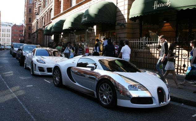 arab supercars in UK swns