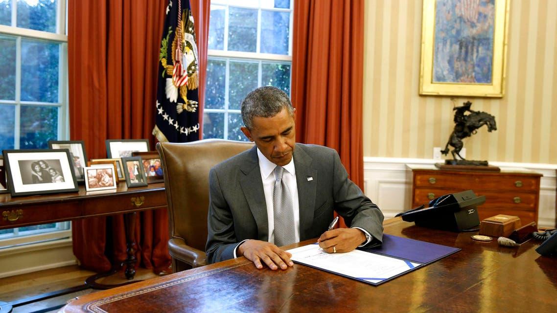 أوباما يوقع على تمويل إسرائيل منظومة القبة الحديدية