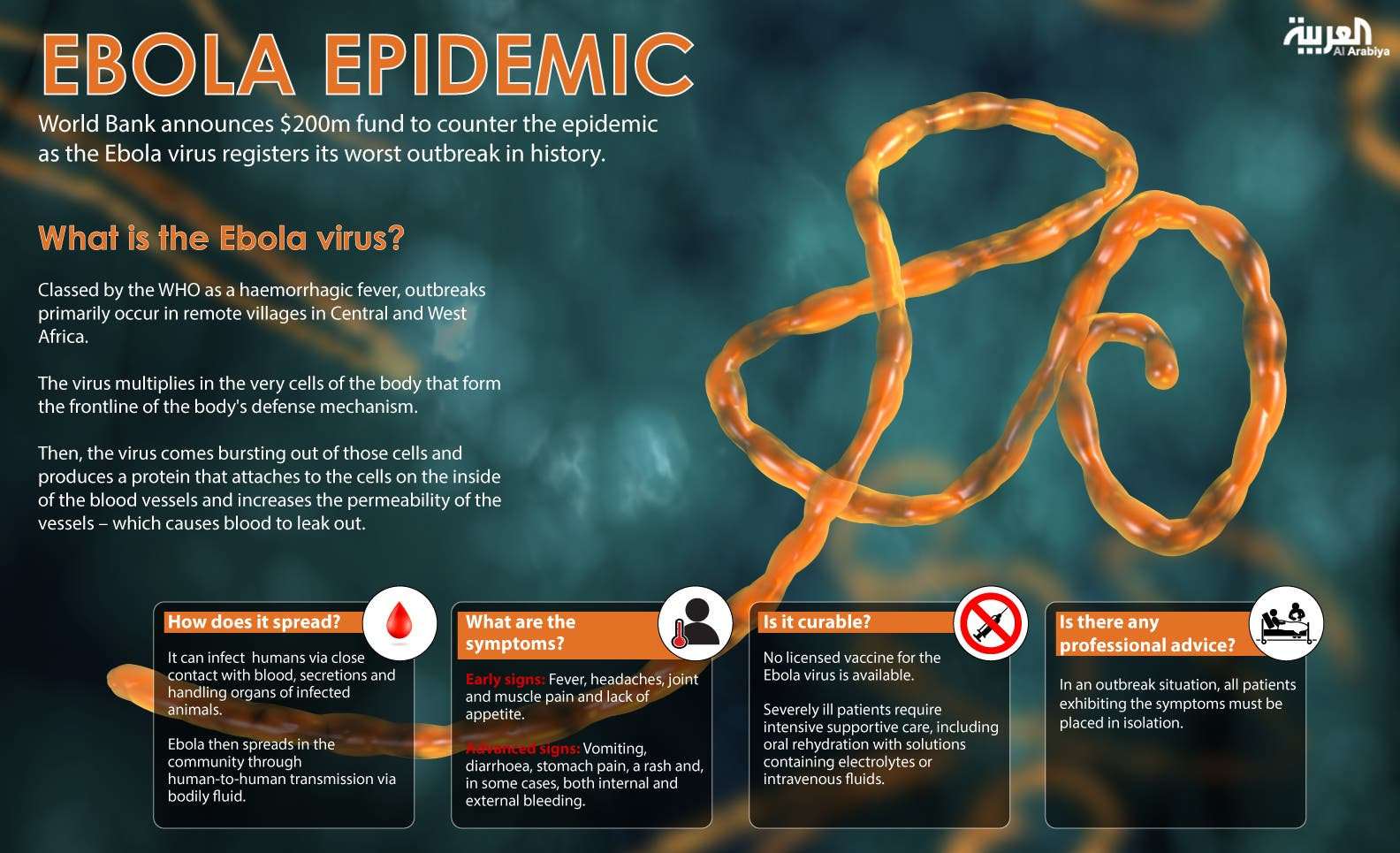 Infographic: Ebola epidemic