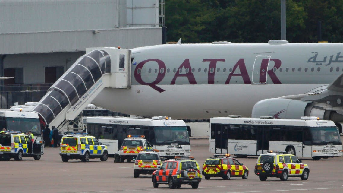 Qatar Airways Manchester Reuters