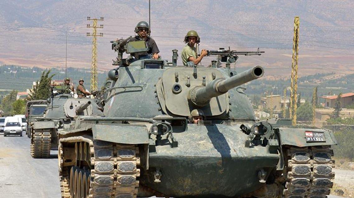 الجيش اللبناني يدخل عرسال