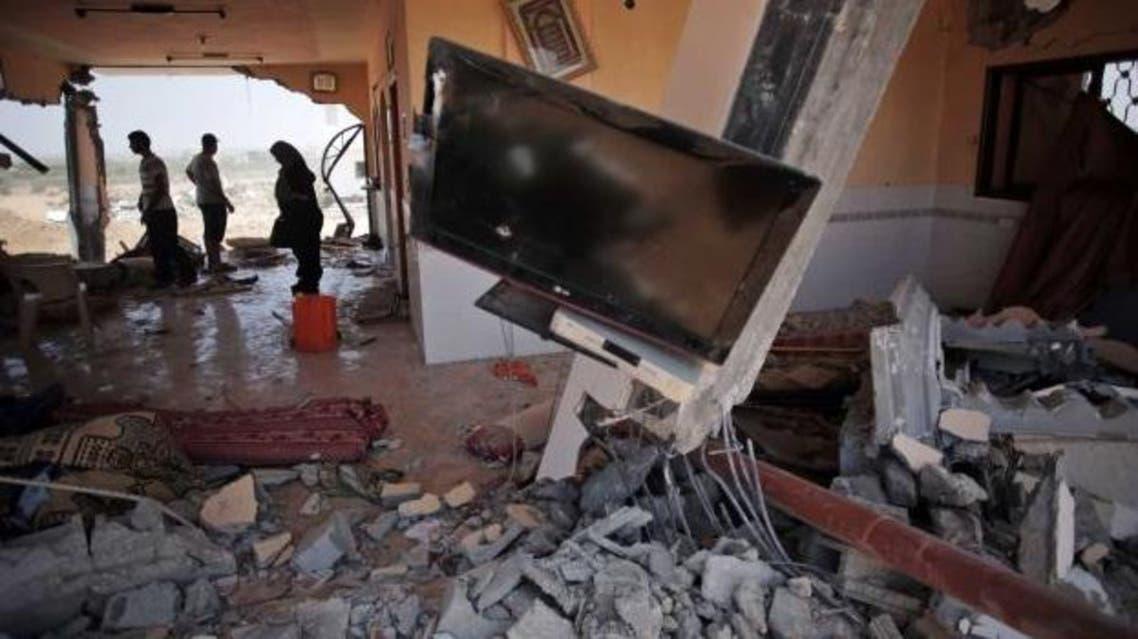 rafah after attack AP
