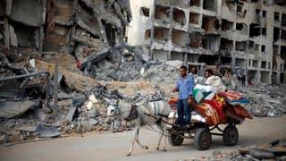 إعادة إعمار غزة هاجس الفلسطينيين بعد وقف إطلاق النار