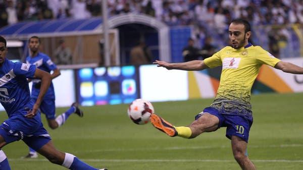 محمد السهلاوي في مباراة سابقة ضد الهلال