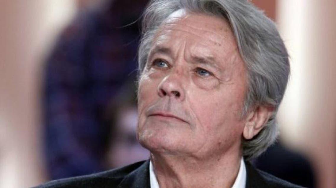 الممثل الفرنسي ألان دولون