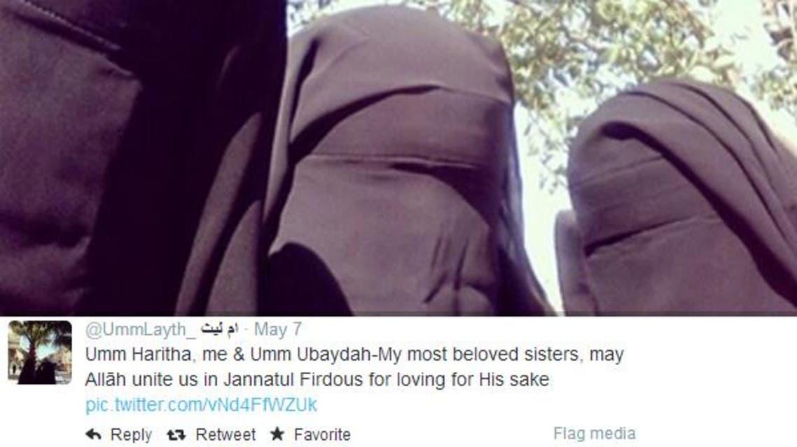 داعشيات يستدرجن نساء العالم للهجرة عبر تويتر