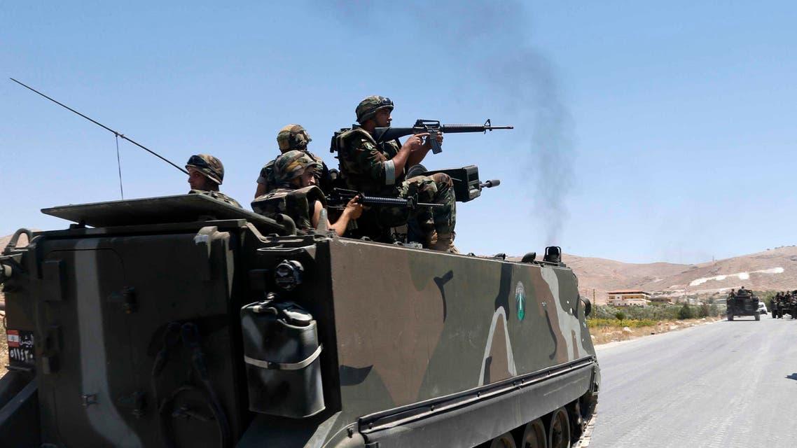 الجيش اللبناني في عرسال الحدث