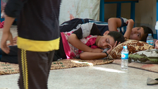 U.N. refugee agency video shows daily struggle of displaced Iraqis