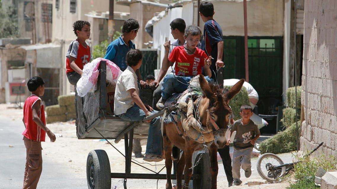 palestine refugees reuters