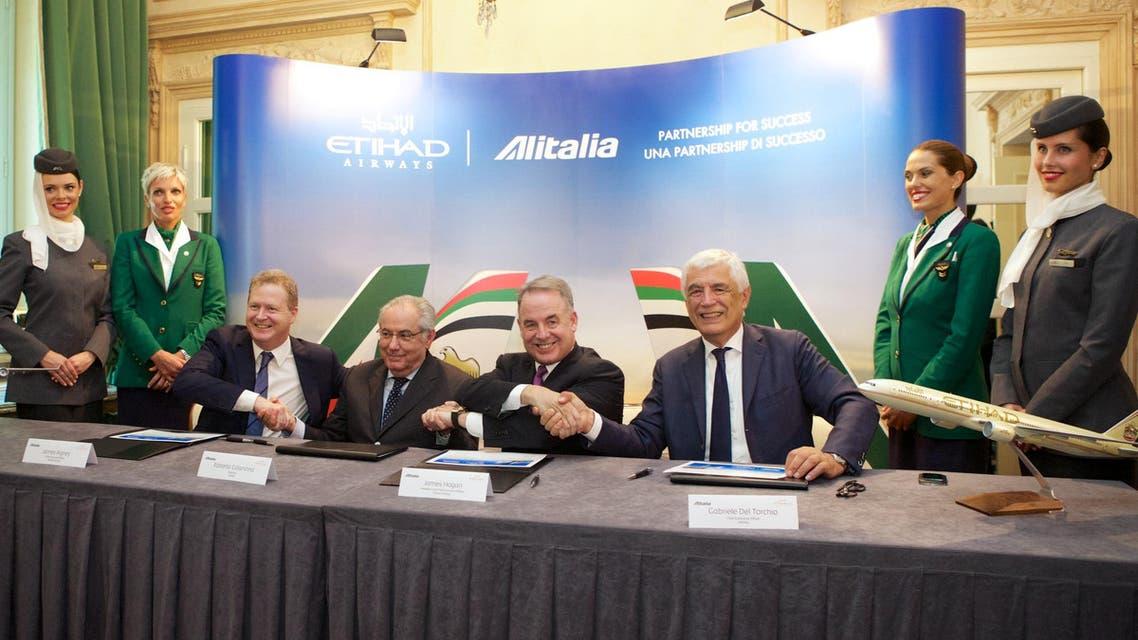 Etihad Alitalia deal