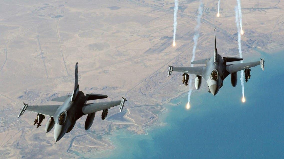 مقاتلات طائرات أميركية إف16 F16