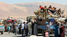Stranded Syrian refugees in Arsal begin returning home