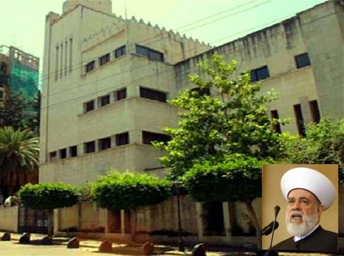 دار الفتوى، تأسست في بيروت قبل 59 سنة، وفي الاطار المفتي قباني