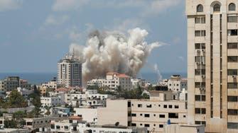 Calls for Gaza truce as Israel resumes air strikes