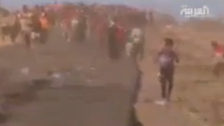 Footage shows Iraq's Yazidis leave Mount Sinjar