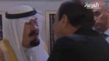 1300GMT: Egypt's Sisi on first official visit to Saudi Arabia