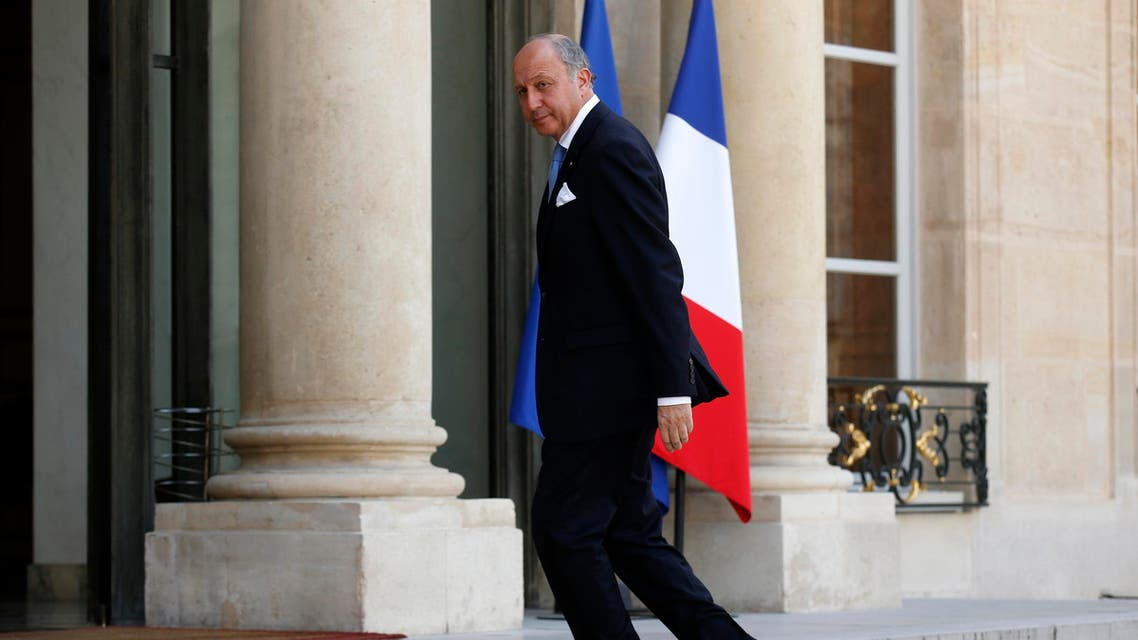 French Foreign Affairs Minister Laurent Fabius arrives to attend a meeting at the Elysee Palace in Paris July 24, 2014. (Reuters)