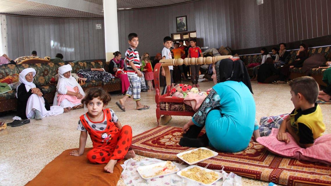 Yazidi refugees flee ISIS threat
