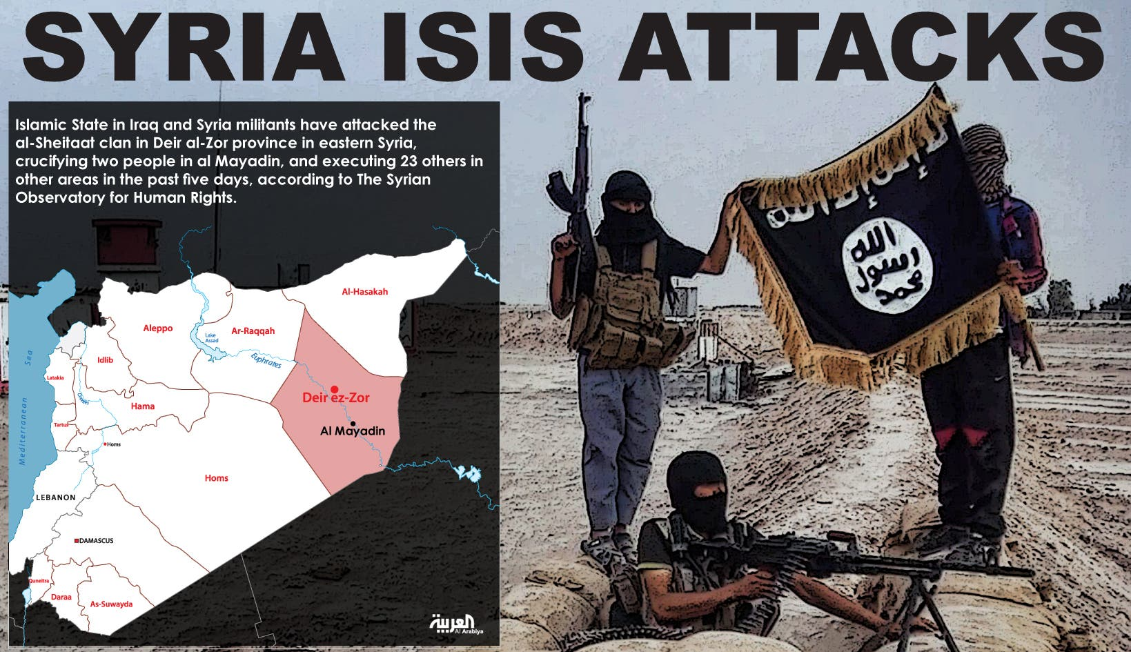 Infographic: Syris ISIS attacks