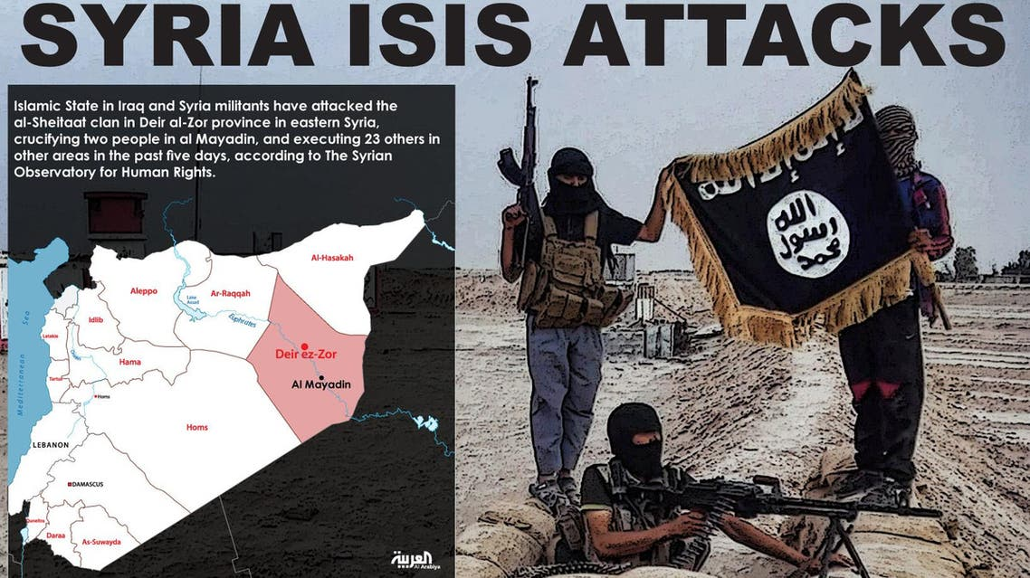 Infographic: Syris ISIS attacks