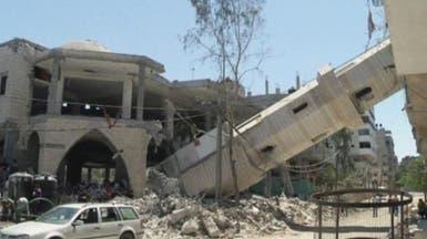 """""""مئذنة مائلة"""".. من أبرز معالم الدمار في غزة"""