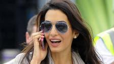 Clooney fiancee declines U.N. role in Gaza probe
