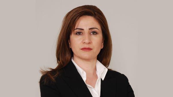 Vian Dakheel, a Yazidi Iraqi MP, was injured in the helicopter crash. (Al Arabiya News)