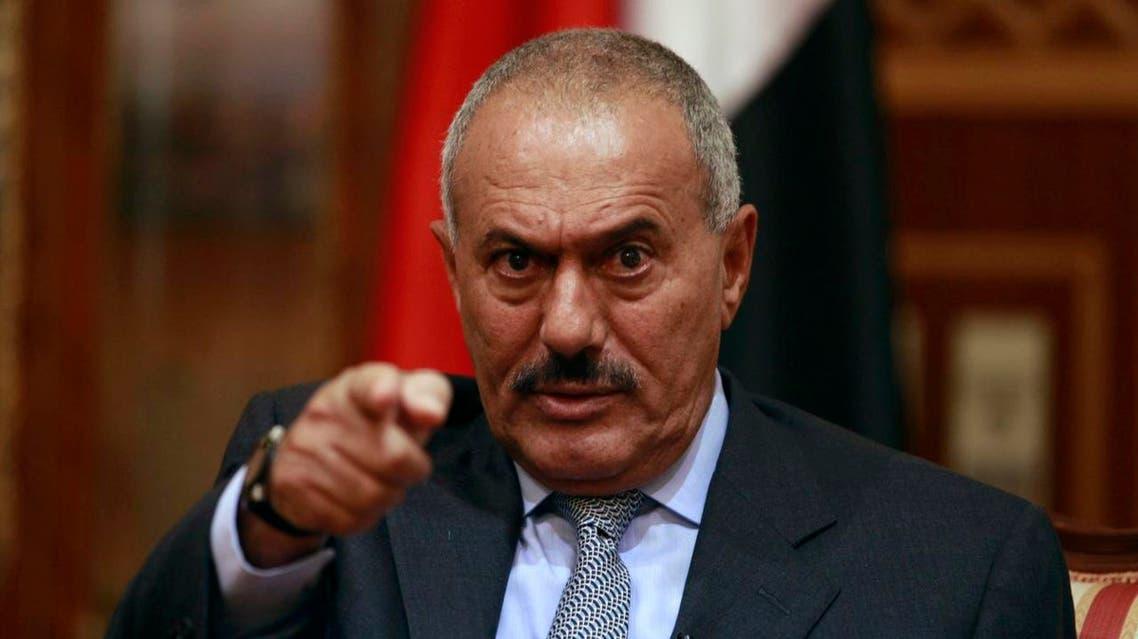 Ali Abdullah Saleh Reuters yemen