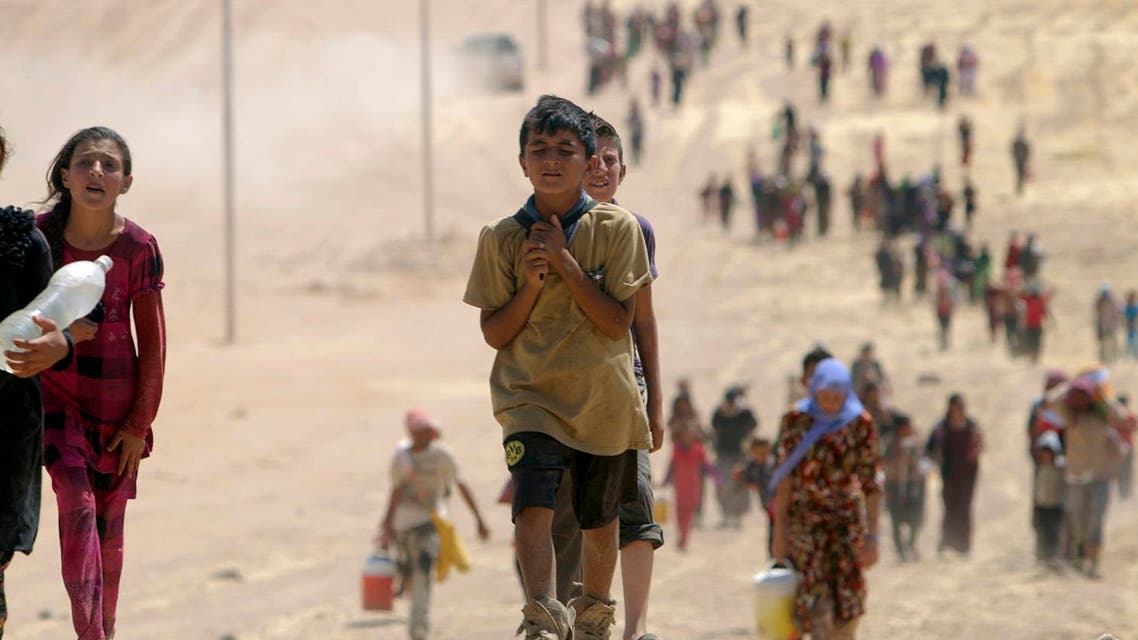 yazidi reuters