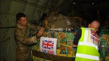 UK drops more aid in Iraq, readies jets for surveillance