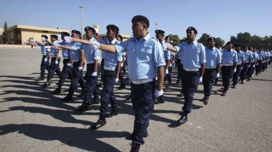 Police officers in Libya Reuters