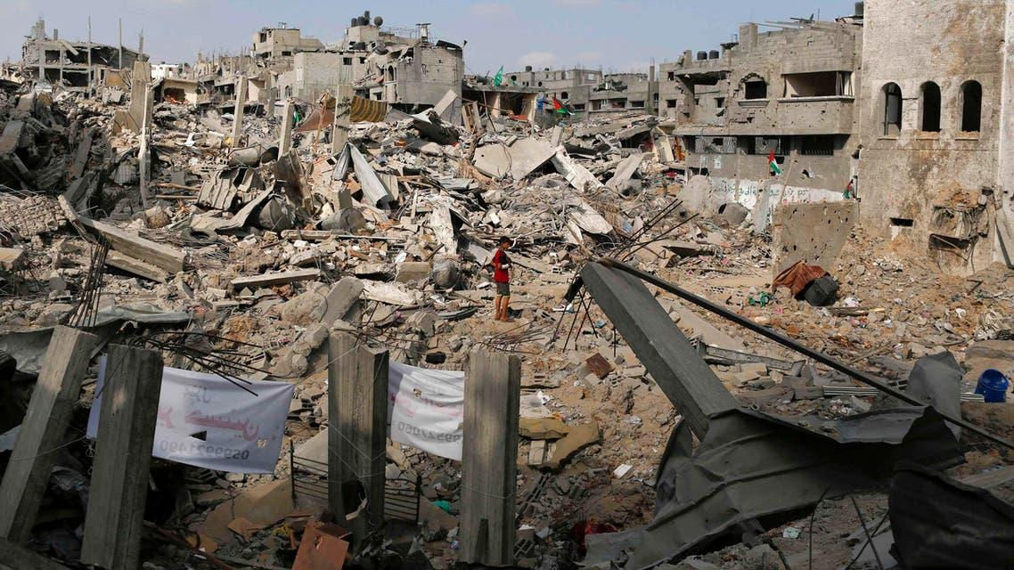 الدمار في غزة القصف على غزة الحرب على