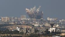 اربع غارات اسرائيلية على قطاع غزة