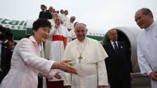 پوپ کی کوریا آمد پر شمالی کوریا کے تین میزائل فائر