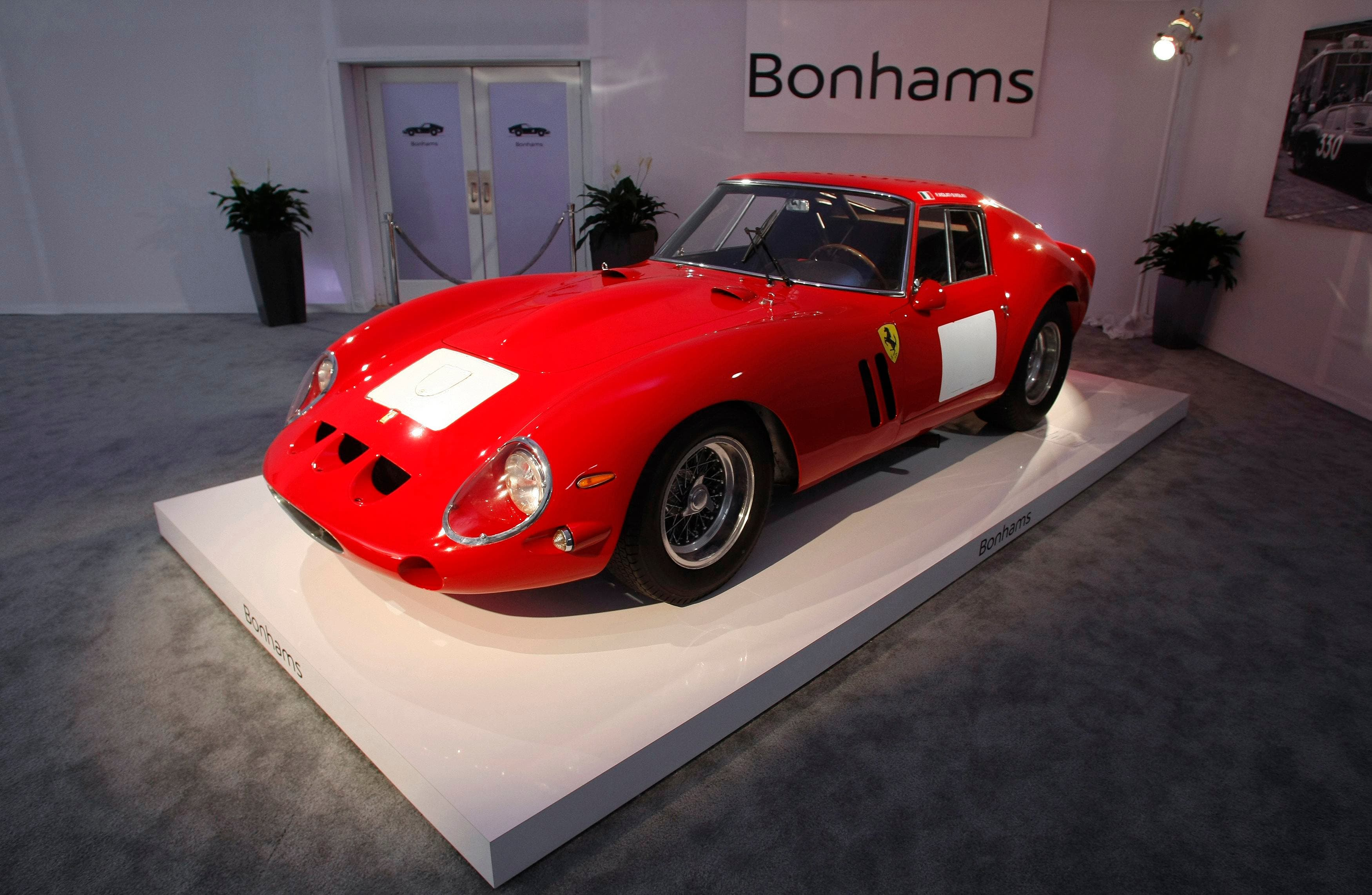 Red 1962 Ferrari 250 GTO Berlinetta Reuters