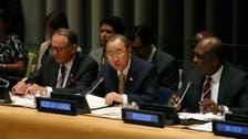 U.N. chief urges meeting on nuclear-free Mideast