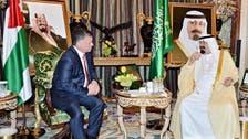 Saudi king meets Jordanian sovereign in Jeddah